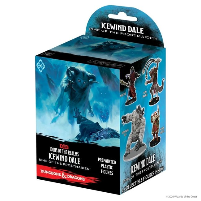 Dungeons & Dragons D&D Icons of the Realms Icewind Dale Rime of the Frostmaiden Booster Single Booster