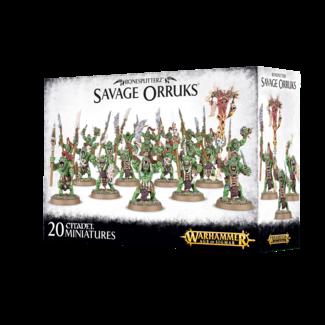 Warhammer Age of Sigmar AoS Bonesplitterz Savage Orruks