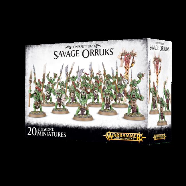 AoS Bonesplitterz Savage Orruks