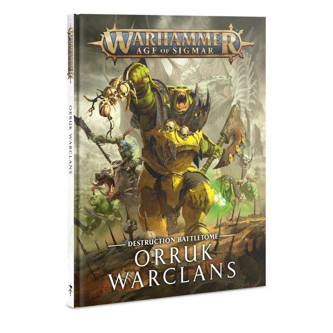 AoS Orruk Warclans Battletome