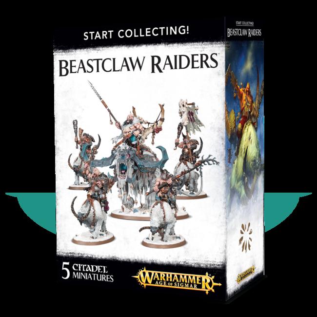 AoS Start Collecting! Beastclaw Raiders