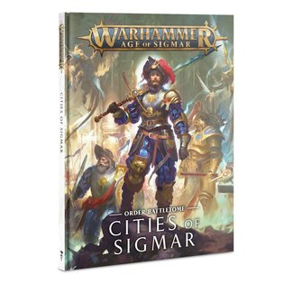 Warhammer Age of Sigmar AoS Cities Of Sigmar Battletome