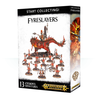 Warhammer Age of Sigmar AoS Start Collecting! Fyreslayers
