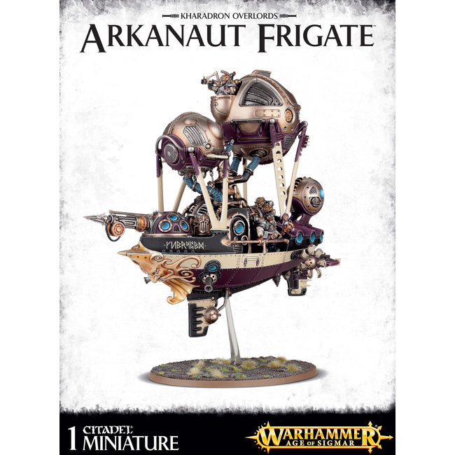 AoS Kharadron Overlords Arkanaut Frigate