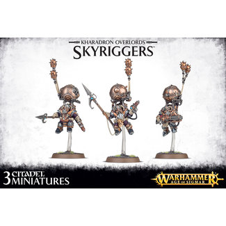 Warhammer Age of Sigmar AoS Kharadron Overlords Skyriggers