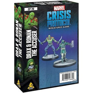 Atomic Mass Games Marvel Crisis Protocol: Drax & Ronan the Accuser