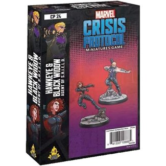Atomic Mass Games Marvel Crisis Protocol: Hawkeye & Black Widow