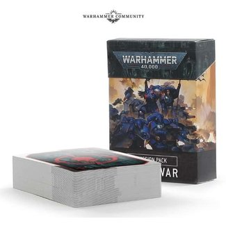 Warhammer 40,000 *PRE-ORDER* 40k 9th Edition Mission Pack: Open War Cards