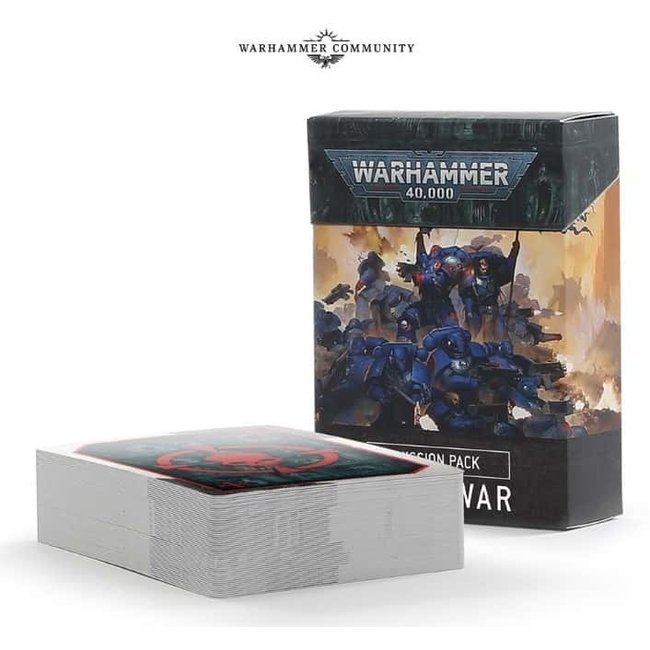 40k 9th Edition Mission Pack: Open War Cards