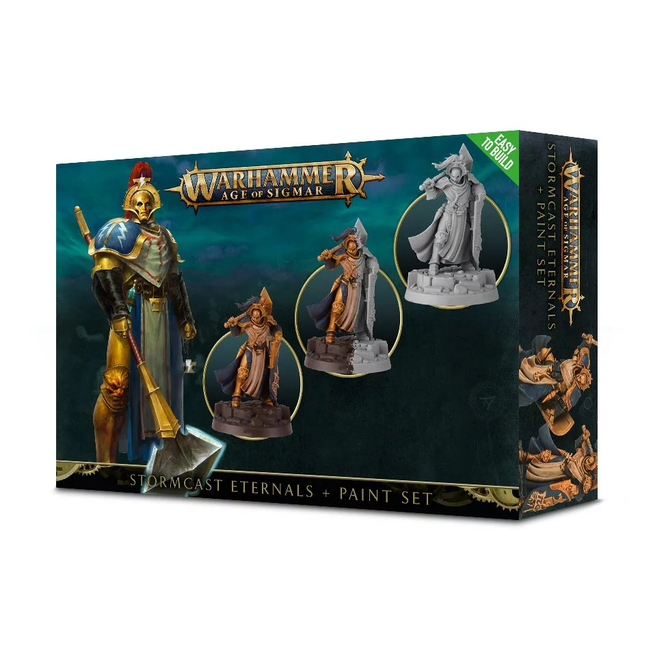 AoS Stormcast Eternals Paint Set