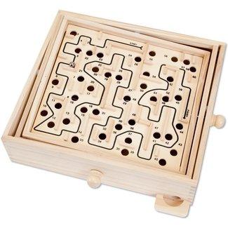Hansen Classic Games Wood Labyrinth