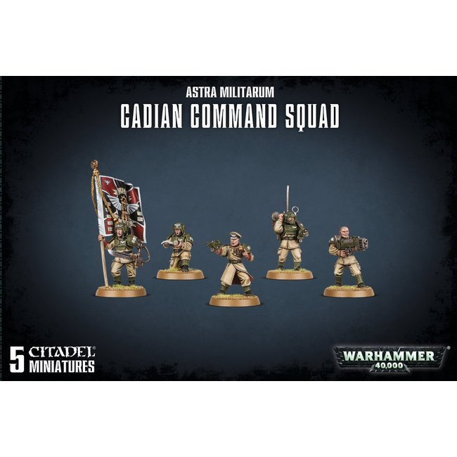 40k Cadian Command Squad