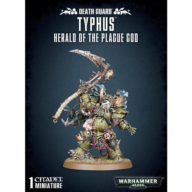 40k Typhus Herald of the Plague God
