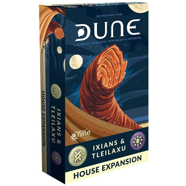 Dune Board Game: Ixians and Tleilaxu House Expansion