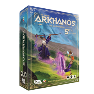 IDW Games Towers of Arkhanos Silver Lotus Order Expansion