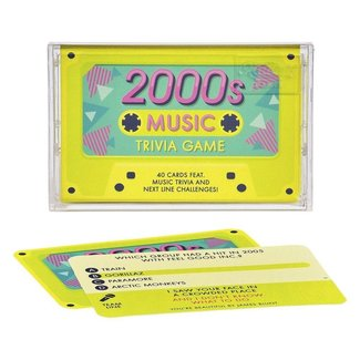 Ridley's Games 2000s Music Trivia Cassette Tape