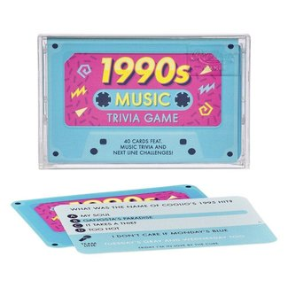 Ridley's Games 1990s Music Trivia Cassette Tape