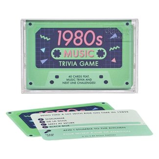 Ridley's Games 1980s Music Trivia Cassette Tape
