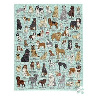 Ridley's Games Dog Lover's 1000 Pc