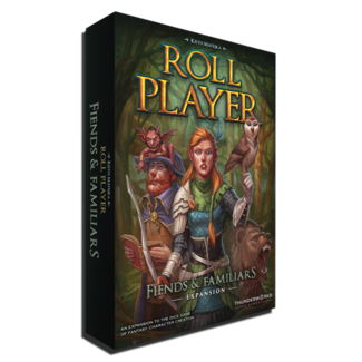 Thunderwork Games Roll Player: Fiends & Familiars Expansion