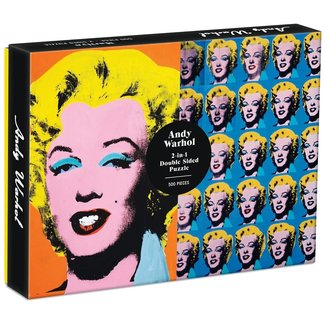 Galison Andy Warhol Marilyn 500 Pc (Double-Sided)
