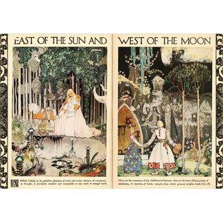Art and Fable Puzzle Company East of the Sun and West of the Moon 500 pc (Velvet)
