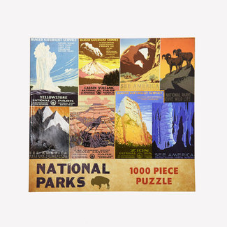 Gibbs Smith National Parks 1000 pc