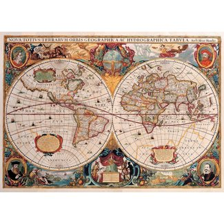 Peter Pauper Press Old World Map 1000 pc