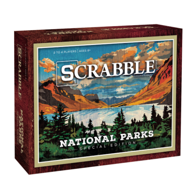 National Parks Scrabble
