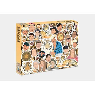 Smith Street Gift Tiger King 500 pc Puzzle