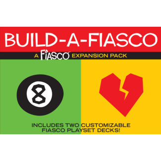 Bully Pulpit Games Fiasco Build a Fiasco Expansion