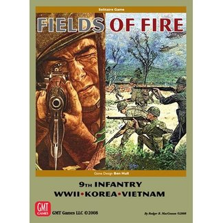 GMT Games Fields of Fire: Battles of the 9th Regiment US Infantry in WWII, Korea, and Vietnam