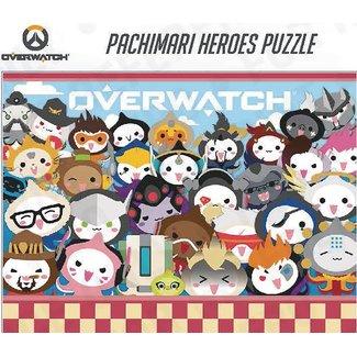 Blizzard Entertainment Overwatch Pachimari Heroes 1000 pc