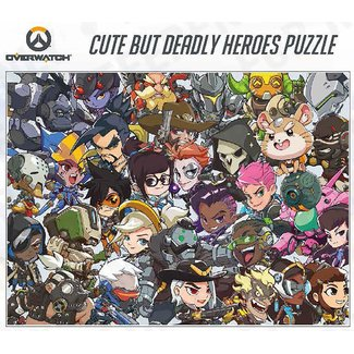 Blizzard Entertainment Overwatch Cute But Deadly Heroes 1000 pc