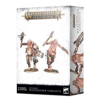 Warhammer Age of Sigmar *PRE-ORDER* Sons of Behemat: Mancrusher Gargants