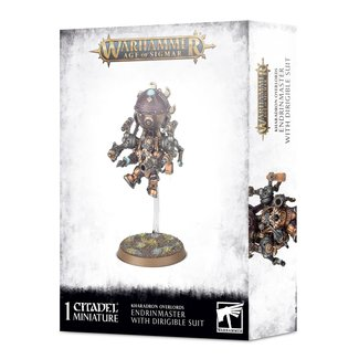 Warhammer Age of Sigmar AoS Kharadron Endrinmaster in Dirigible Suit