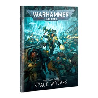 Warhammer 40,000 40k Codex: Space Wolves 9th