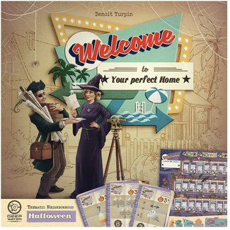 Deep Water Games Welcome to...  Halloween Expansion