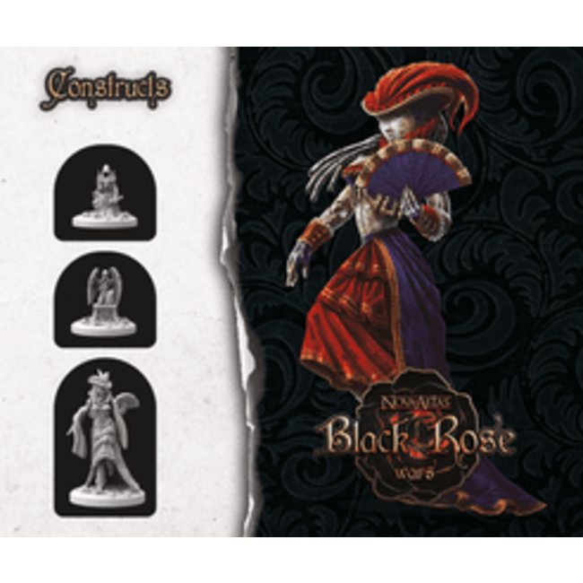 Black Rose Wars Summonings Constructs - Miniatures Expansion