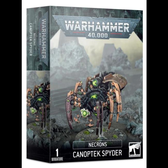 40k Necron Canoptek Spyder