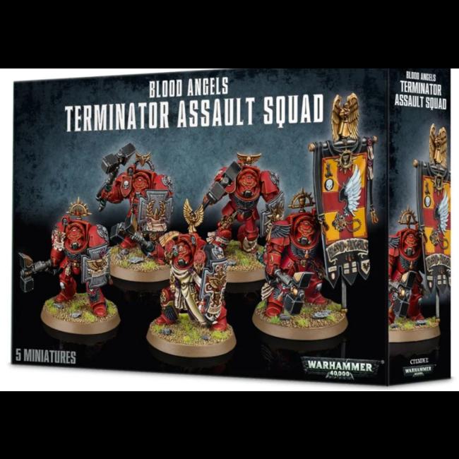 40k Terminator Assault Squad