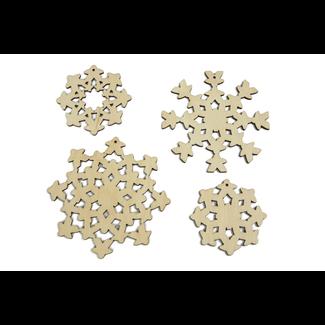 Broken Token Holiday Ornaments - Meepleflakes