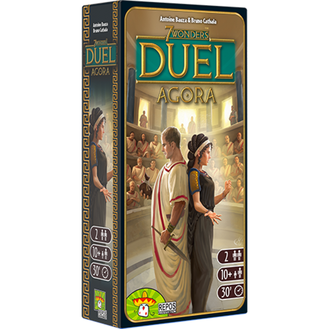 Repos Production 7 Wonders: Duel Agora Expansion