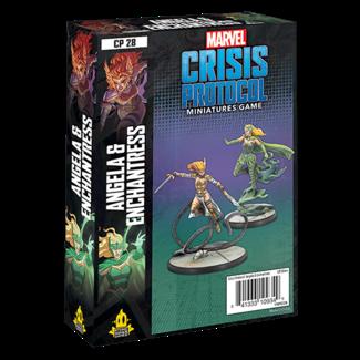 Atomic Mass Games Marvel Crisis Protocol: Angela & Enchantress Character Pack