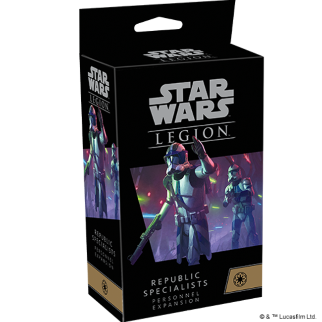 SW Legion: Republic Specialists Personnel