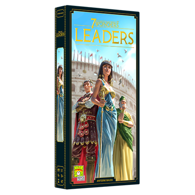 7 Wonders New Edition: Leaders Expansion