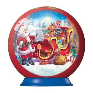 Ravensburger 3D Christmas Santa's Sleigh Puzzle Ball 56 pc