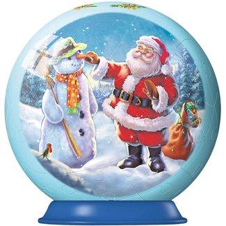 Ravensburger 3D Christmas Santa's Snowman Puzzle Ball 56 pc