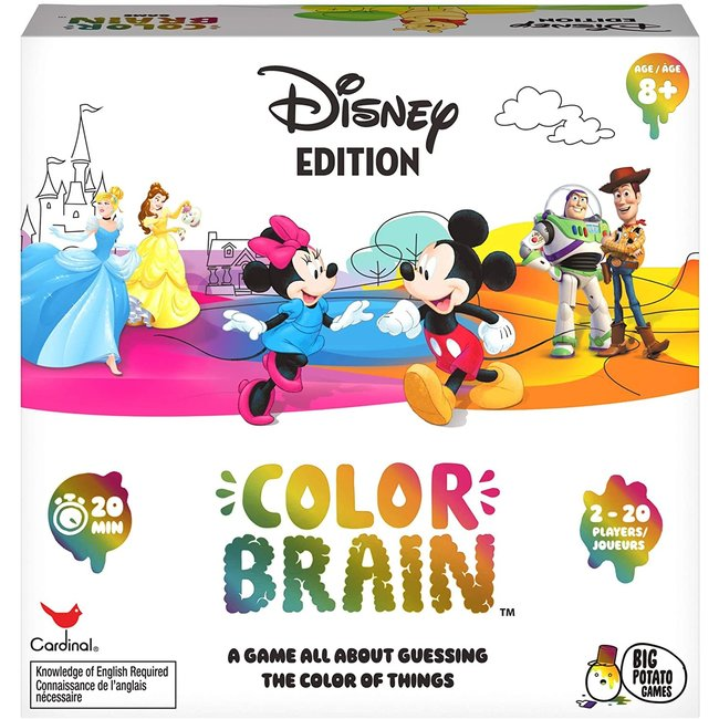 Disney Colorbrain, The Ultimate Board Game for Families who love Disney™