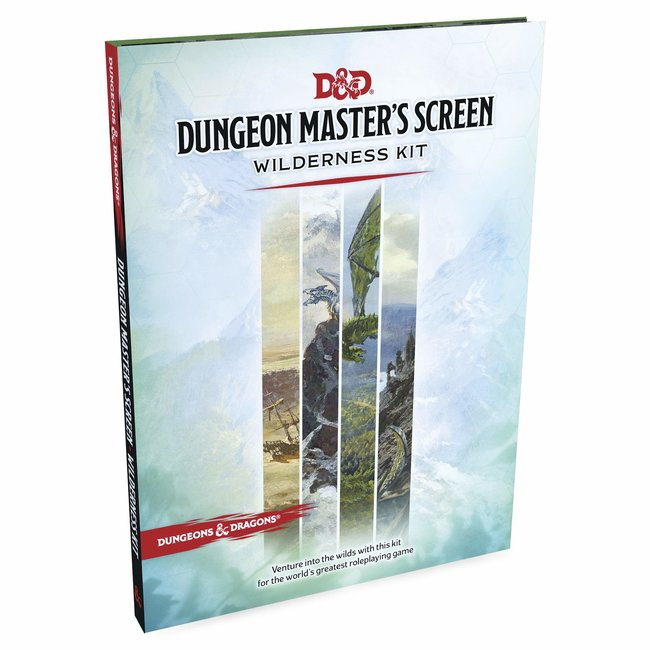 D&D Wilderness Kit DM Screen